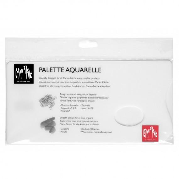 PALETTE PLEXI BLANCHE CARAN D'ACHE 117.103