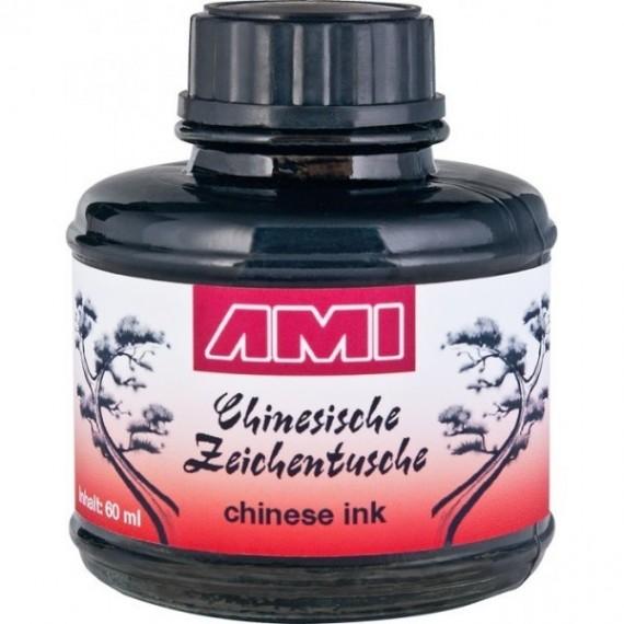 Encre de chine AMI - Encre CHINA TUSCHE - Flacon: 60 ml - 578009