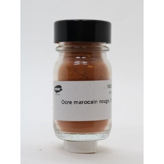 Pigment KREMER - Série 1 - Pot: 38 gr - Red maroccan ochre fine