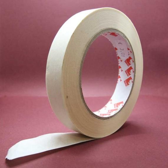 Adhésif de masquage PAPADER (Crème) 9111 - 25 mm x 50 m