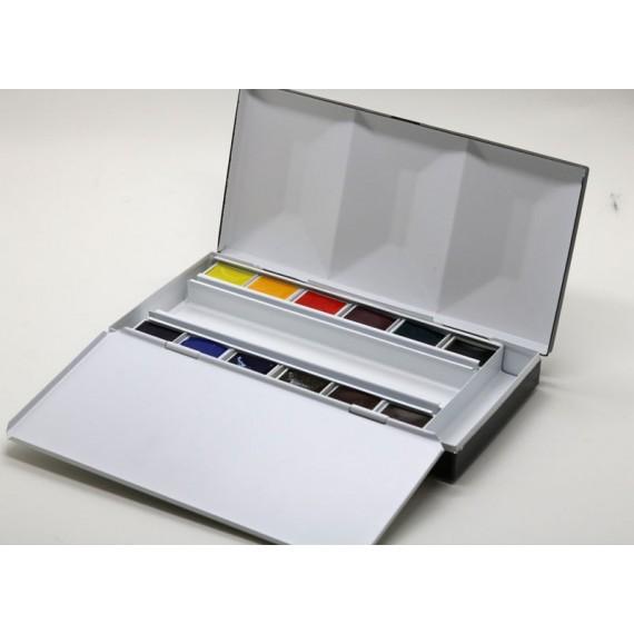 Boite aquarelle BLOCKX - Extra-fine - Luxe - 12 1/2 godets - 4-1-512
