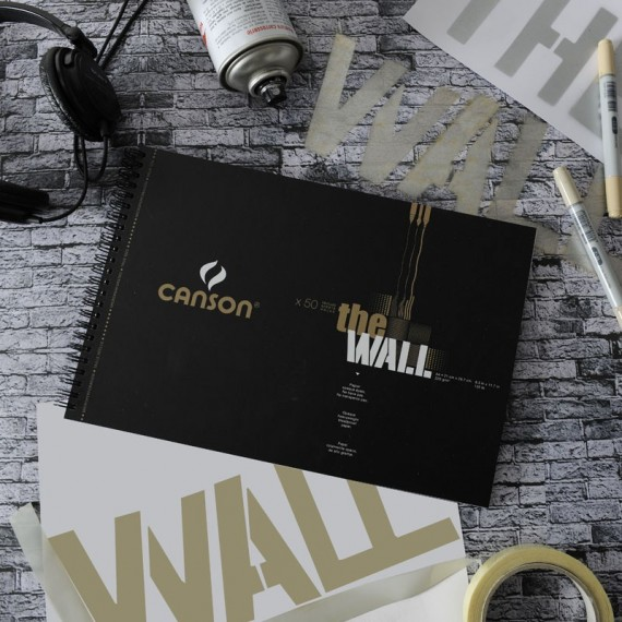 Album CANSON The wall - Format: (A3+) - 220 gr - 30 feuilles