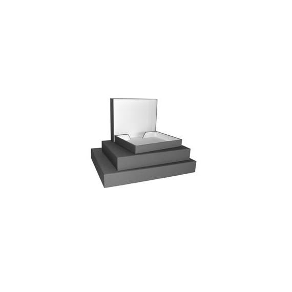 Boite archivage MUSEUM OPERA - Toilé noire - Format:  26 x 32 x 6.5 cm