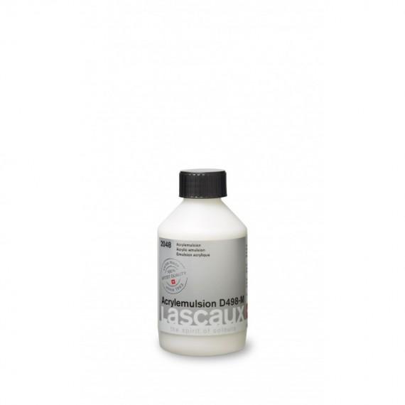 Emulsion LASCAUX Acrylique - D 498 M - Flacon: 250 ml - Prix net