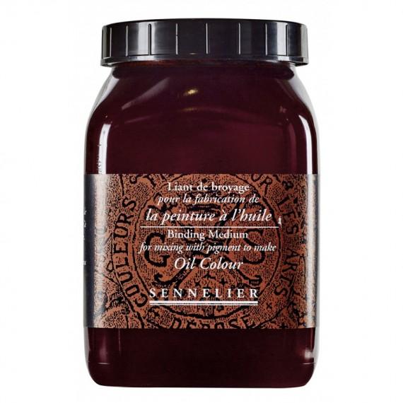 Liant de broyage huile SENNELIER - Flacon:1000 ml