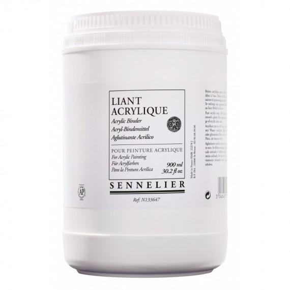 Liant acrylique SENNELIER - Pot:900 ml