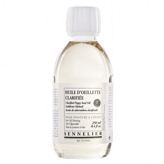 Huile d'oeillette SENNELIER - Flacon:250 ml