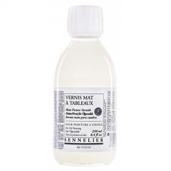 Vernis huile SENNELIER Mat- Flacon:250 ml