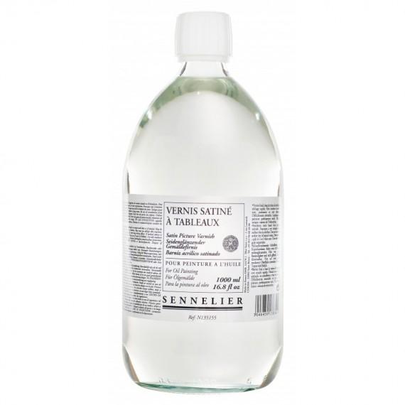 Vernis huile SENNELIER Satiné - Flacon:1 Litre