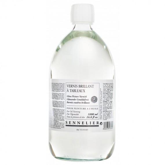 Vernis huile SENNELIER Brillant - Flacon:1 Litre