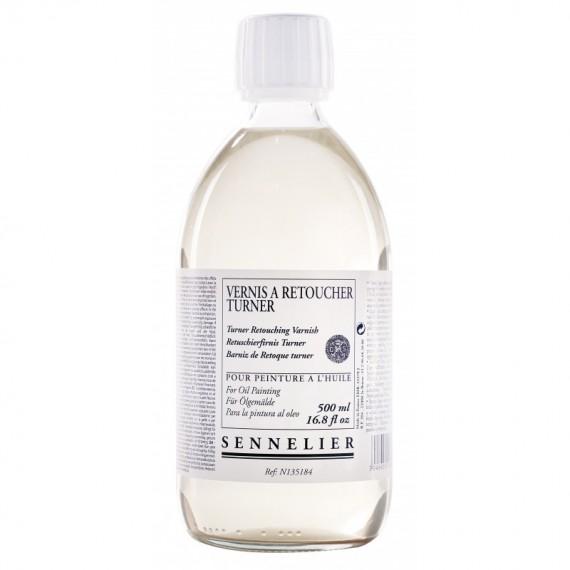 Vernis à retoucher SENNELIER Turner - Flacon:500 ml