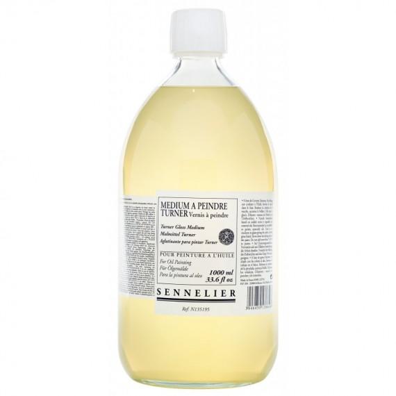 Médium huile SENNELIER - Médium à peindre - Flacon: 1 Litre