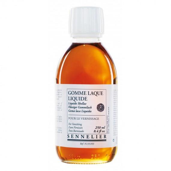 Résine SENNELIER Gomme laque décolorée liquide - F:250 ml