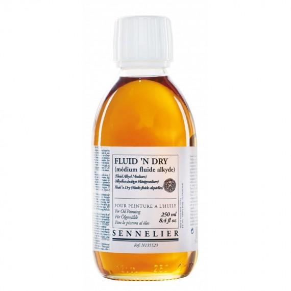 Médium huile SENNELIER - Fluid'n dry - Flacon:  250 ml