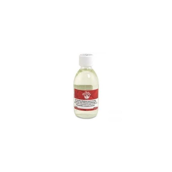 Médium huile OLD HOLLAND - Médium à peindre rapide - Flacon: 100 ml