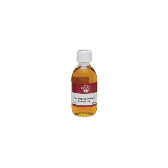 Huile de lin pressé à froid OLD HOLLAND -  Flacon:250 ml