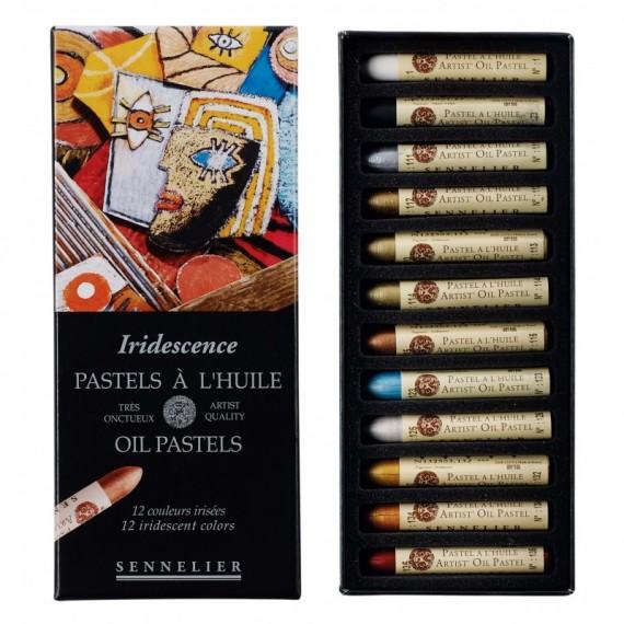Sennelier Artists Pastels à l/'Huile-Lot de 24 x portrait couleurs