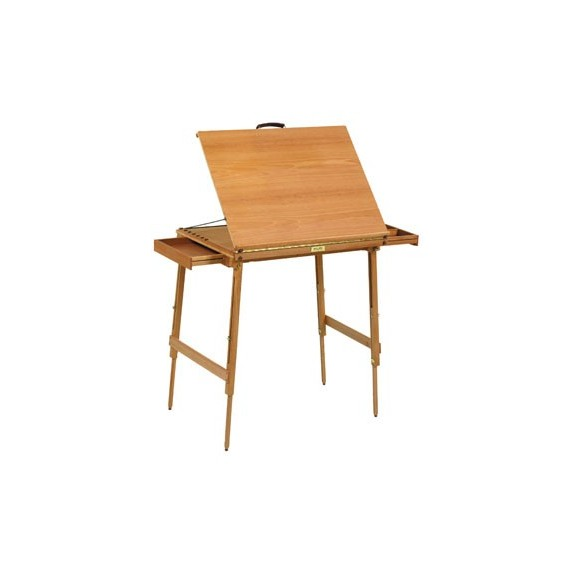 TABLE AQUARELLE PLIANTE RS REF 060125 % indisponible