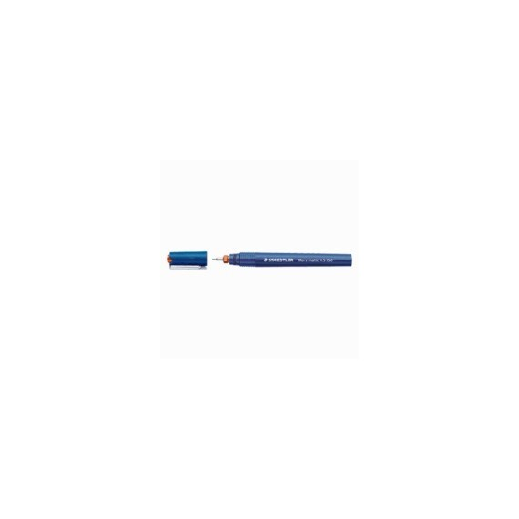STYLO STAEDTLER MARS MATIC 700 PTE TUBULAIRE 0.1 mm  1.2 mm 0.8 mm