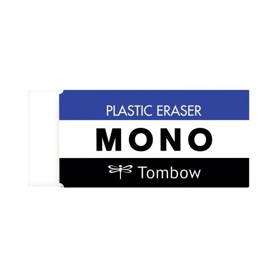 Gomme MONO M -19G  - Gomme blanche - PE-04A