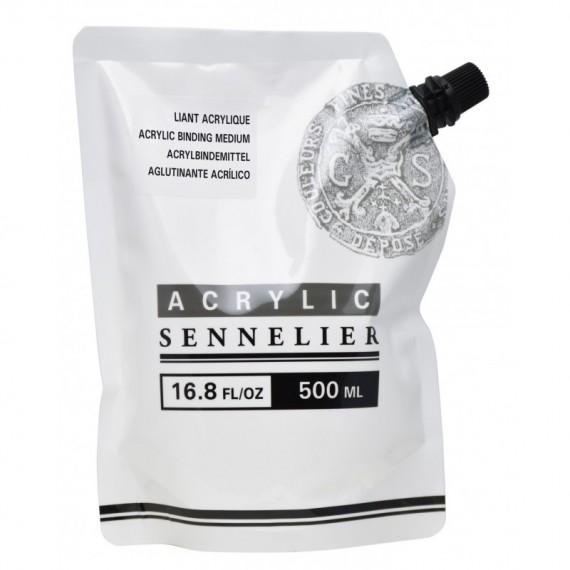 Liant acrylique SENNELIER Abstract - Sachet:500 ml