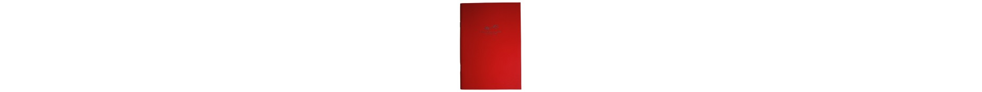 CAHIER CDQV ROUGE BRILLANT 140 Gr 14.821 20 F