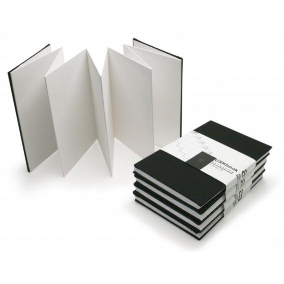 CARNET SENNELIER URBAN SKETCH BOOK ACCORDEON 340 Gr NOIR F 10 x 15 cm