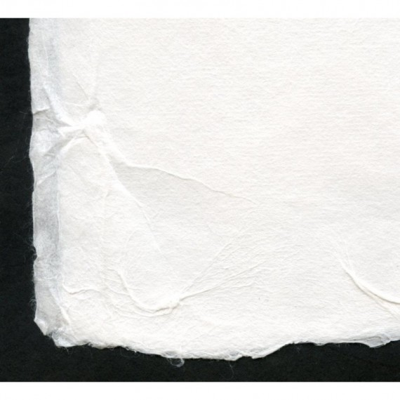 Papier du monde CDQV Coréen n.300 - 390/490g (136g/m²) - F:150 x 215 cm - Blanc