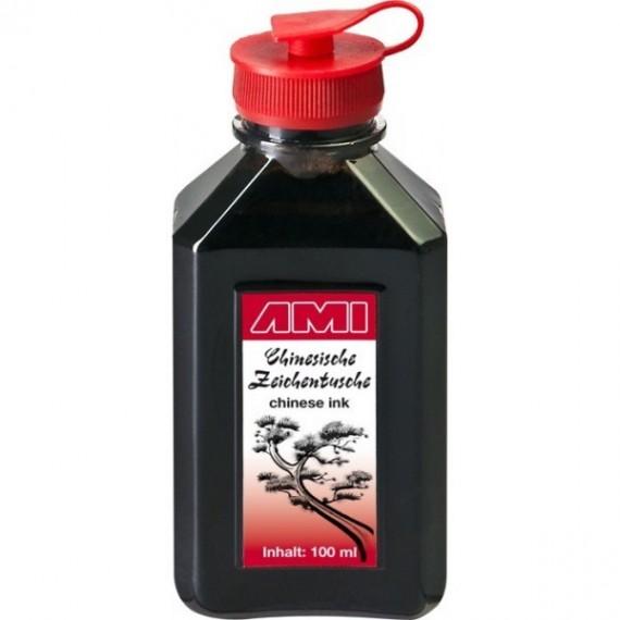 Encre de chine AMI - Encre CHINA TUSCHE - Flacon: 100 ml - 578014