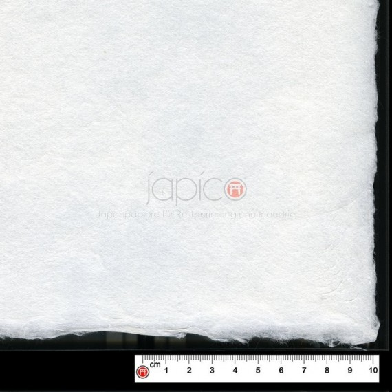 Papier du monde CDQV - Kochi white  - 119g - F:51 x 66 cm - (50% Kozu + 50% Pulpe)