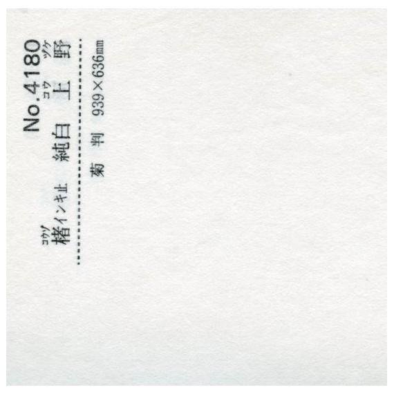 Papier du monde CDQV Kouzo Kouzuke N.4180 - 50g - F:94 x 63 cm  - Pure white