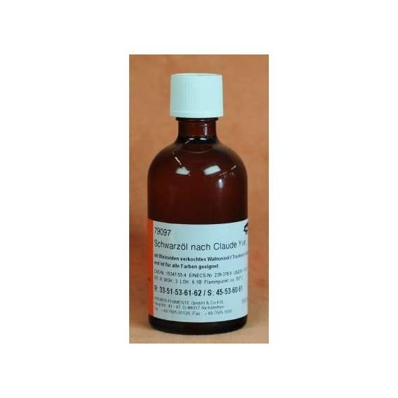 Huile noire KREMER Claude Yvel - Flacon: 100 ml