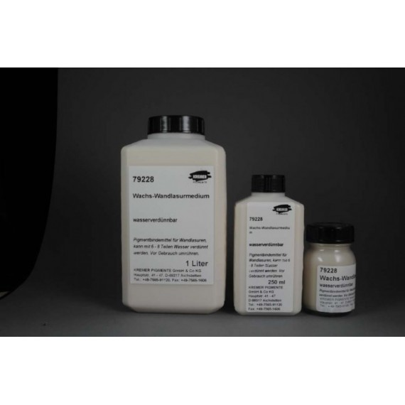 Médium huile KREMER - Médium à la la cire - Flacon: 1 Litre