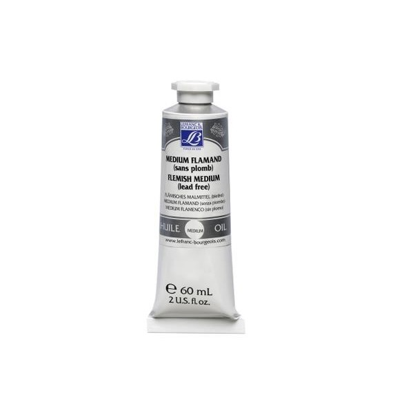 Médium huile LEFRANC & BOURGEOIS - Médium flamand sans plomb - 60 ml