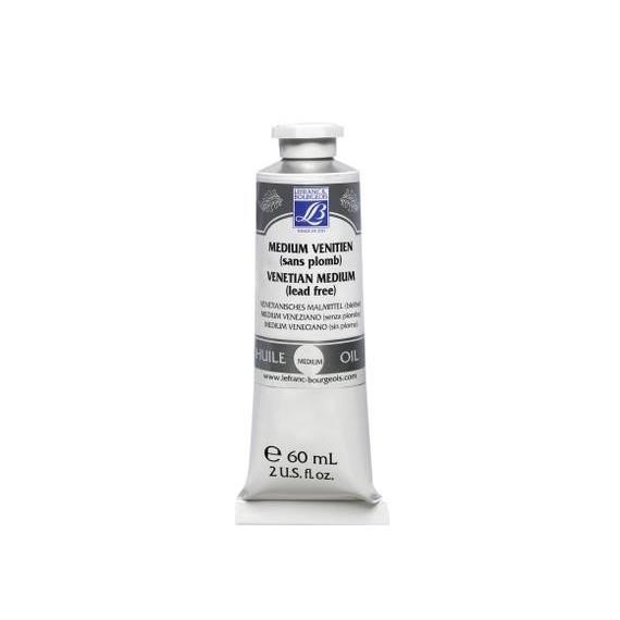 Médium huile LEFRANC & BOURGEOIS - Médium venitien sans plomb - Flacon: 60 ml