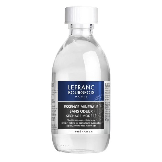 Solvant W&N Sansodor (Inodore) - Flacon:250 ml