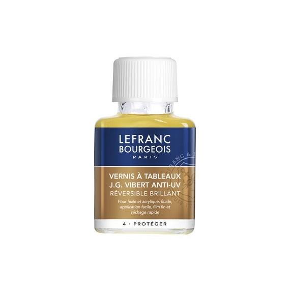 Vernis à retoucher LEFRANC & BOURGEOIS JG Vibert - Vernis brillant - 250 ml