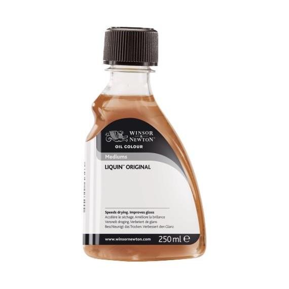 Médium huile W&N Liquin - Médium alkyde - Flacon: 250 ml