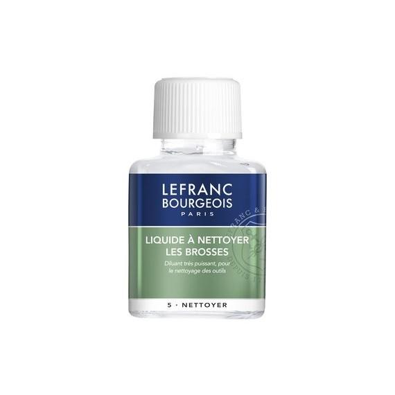 Liquide nettoyage LEFRANC & BOURGEOIS Nettoyant pour brosses - Flacon:75 ml - 3002277