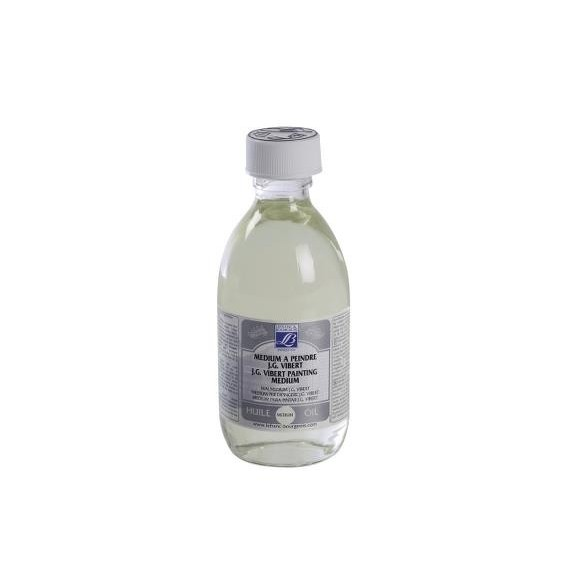 Médium huile LEFRANC & BOURGEOIS J.G. Vibert - Médium à peindre - Flacon: 250 ml