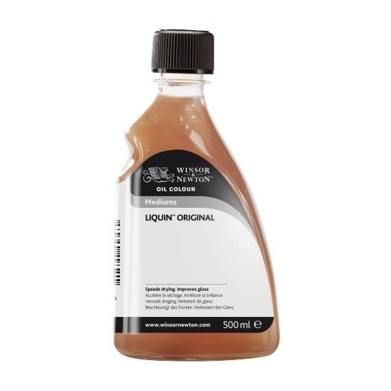 Médium huile W&N Liquin - Médium alkyde - Flacon: 500 ml