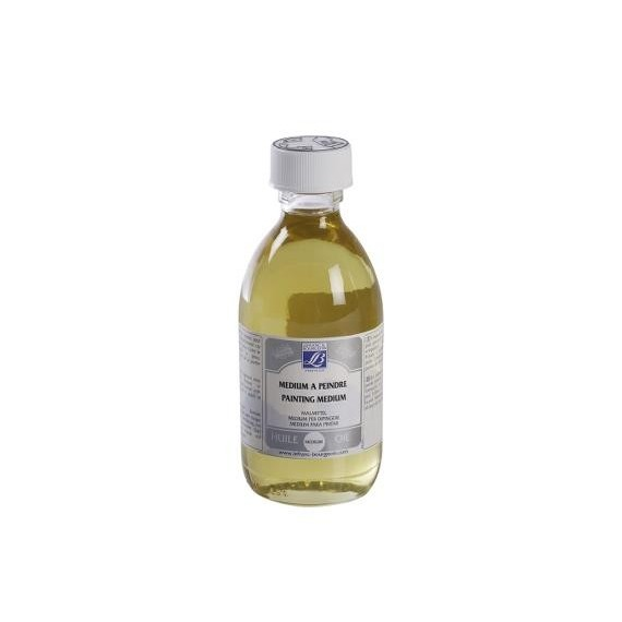 Médium huile LEFRANC & BOURGEOIS - Médium à peindre brillant incolore - Flacon: 250 ml