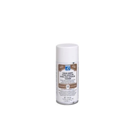 Aérosol (Bombe) LEFRANC & BOURGEOIS - Vernis pour gouache - 150 ml