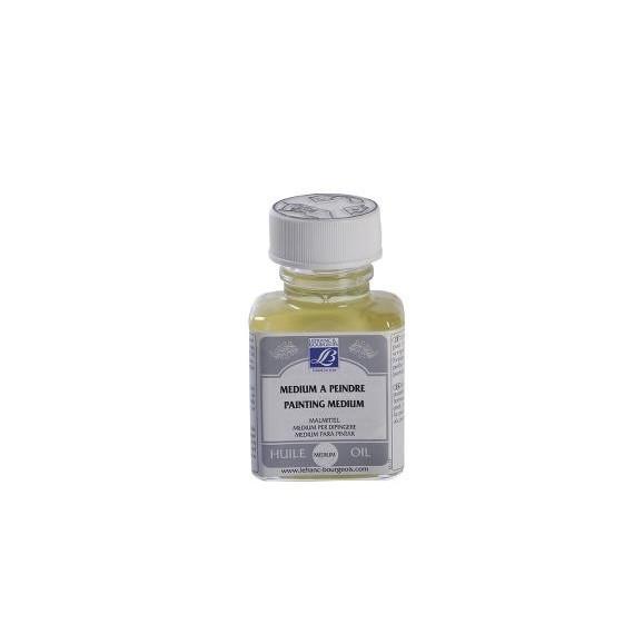 Médium huile LEFRANC & BOURGEOIS - Médium à peindre brillant incolore - Flacon: 75 ml