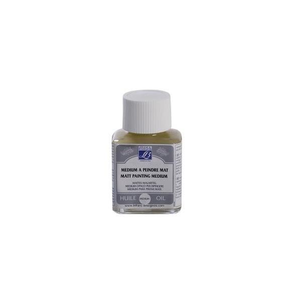 Médium huile LEFRANC & BOURGEOIS - Médium à peindre Mat - Flacon: 75 ml