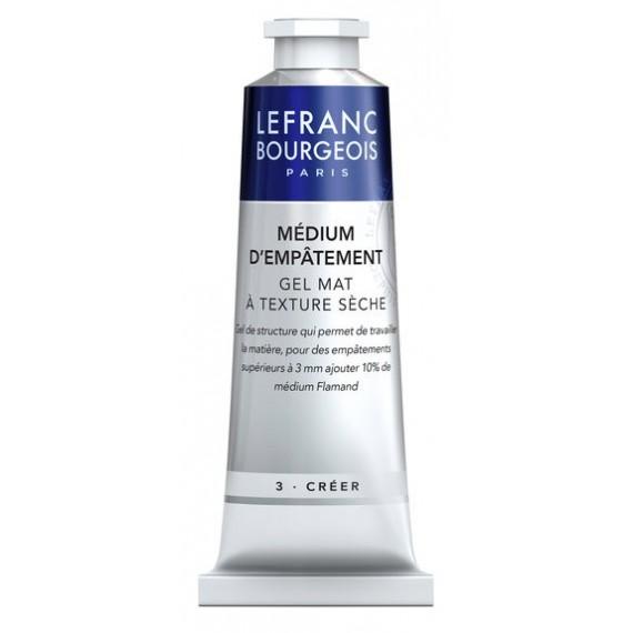 Médium huile LEFRANC & BOURGEOIS - Médium d'empâtement - Tube: 60 ml