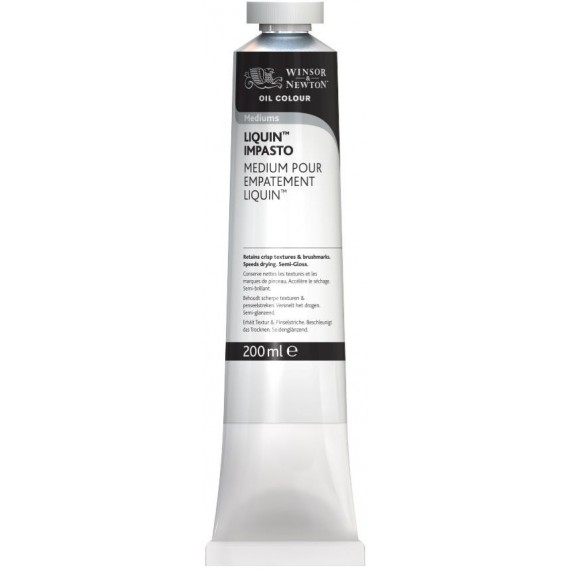 Médium liquin W&N - Médium impasto (En pâte) - Tube:200 ml