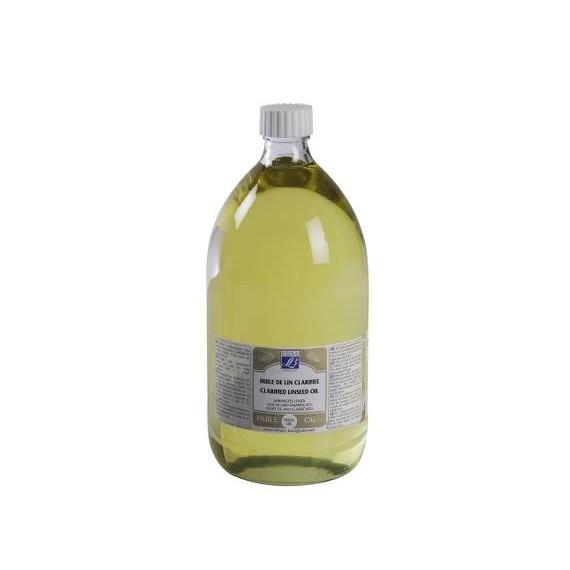 Huile de lin LEFRANC & BOURGEOIS - Huile de lin clarifiée - F: litre