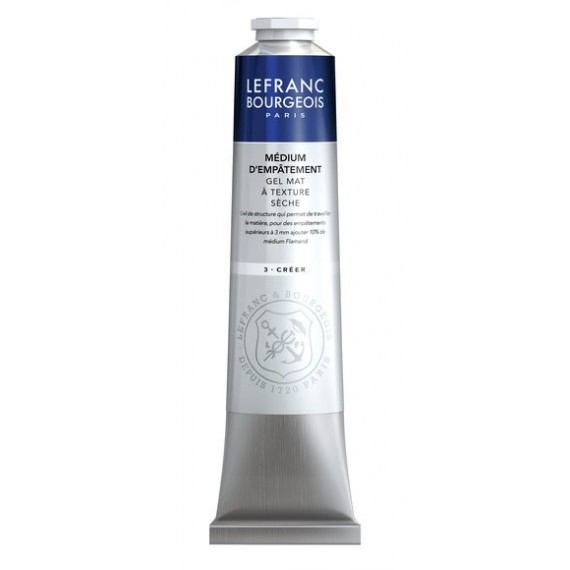 Médium huile LEFRANC & BOURGEOIS - Médium d'empâtement - Tube: 200 ml