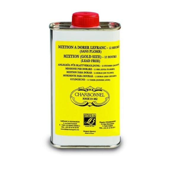 Mixtion à dorer CHARBONNEL - A l'huile - 12 Heures - 250 ml
